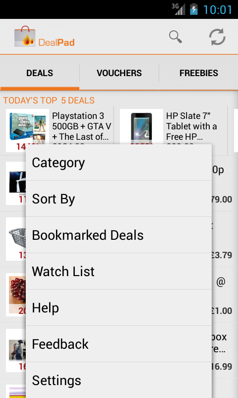 DealPad - HotUKDeals - screenshot