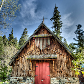 Chapel in the Woods by Kevin Denton - Buildings & Architecture Places of Worship ( wedding, chapel, lake tahoe ca, woods, lake tahoe,  )