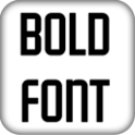 Bold Fonts For FlipFont® icon