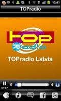 Screenshot of TOPradio