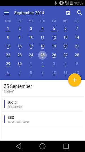 Today Calendar Pro 3.1.21 APK