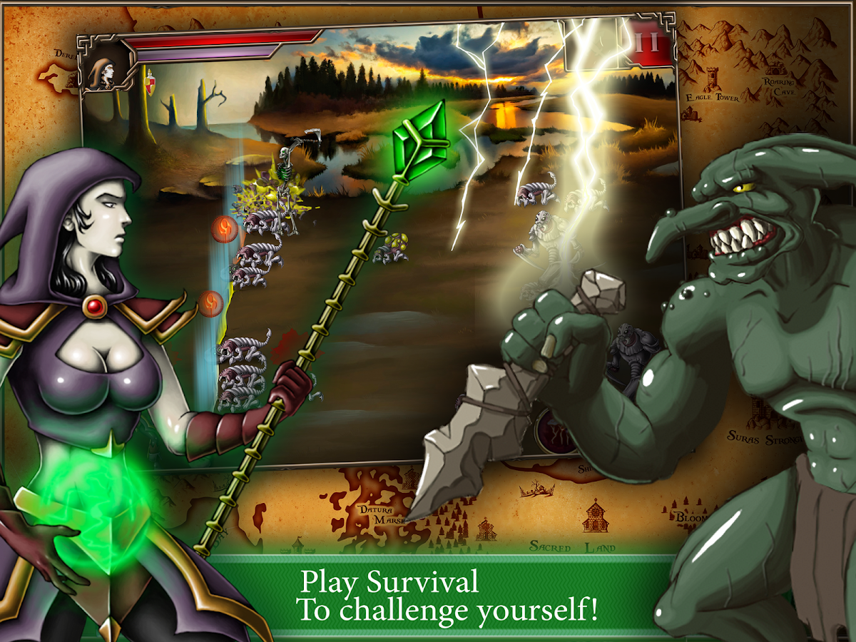 Dawnkeeper: Last Defense- screenshot
