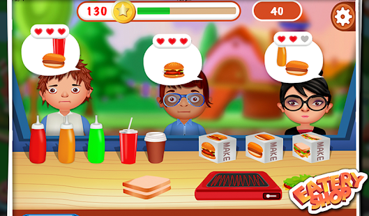 Eatery Shop - Kids Fun Game- screenshot thumbnail