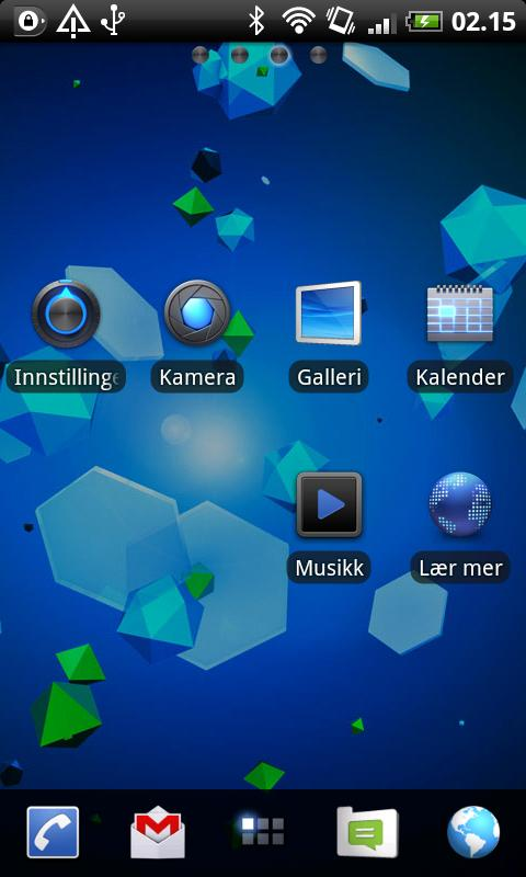 Honeycomb GO Launcher EX Theme - screenshot