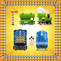 Toy Train Puzzle for Toddlers icon