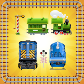 Toy Train Puzzle for Toddlers