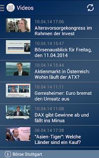 Börse Stuttgart- screenshot thumbnail