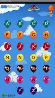 Screenshot of Learn Alphabet - English