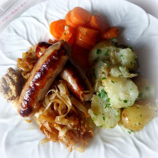 Braised Bangers and Cabbage Recipe