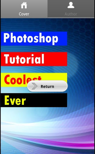 Photoshop cool tutorial ever