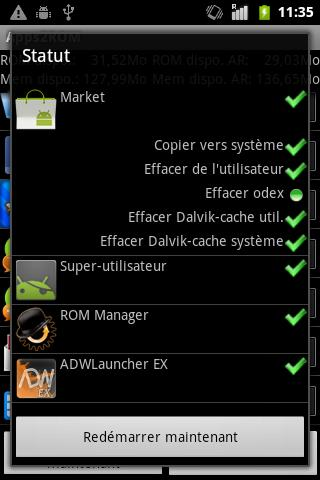 Apps2ROM [ROOT] - screenshot