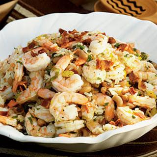Shrimp and Hoppin' John Salad.