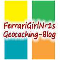 FerrarigirlNr1 Geocaching Blog logo
