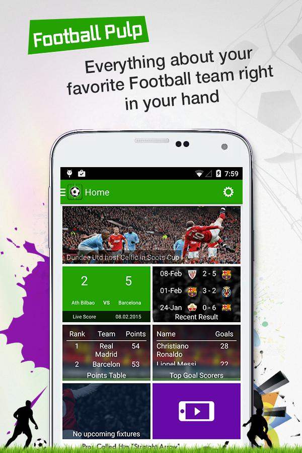 Football Pulp - Watch it Live!- screenshot