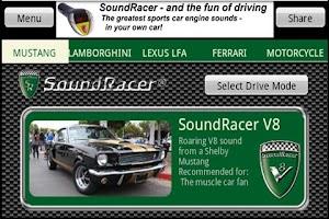 Screenshot of SoundRacer FREE Car Sounds