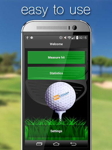Hitmeter GPS Golfshot Distance