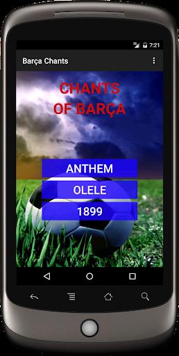 Fan chants Barça