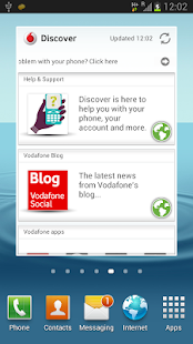 Vodafone Discover - screenshot thumbnail