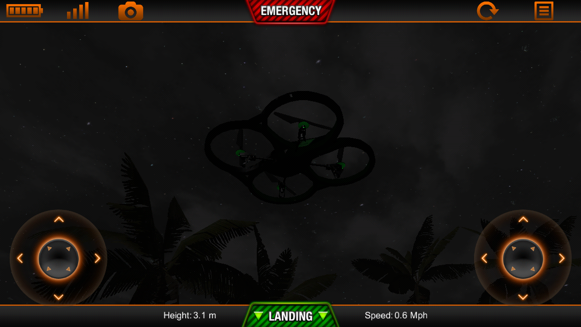 ARDrone Sim - screenshot