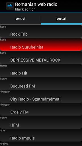 RoWR - Romanian Web Radio