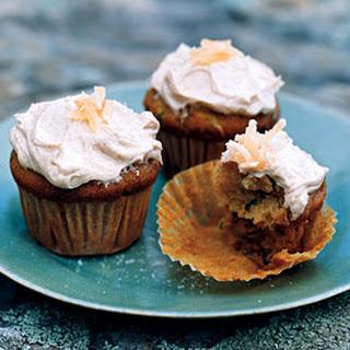 Zucchini Ginger Cupcakes.