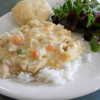 Creamy Chicken with Vegetables.