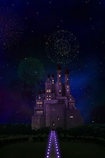 castle and sky LWallpaper - screenshot thumbnail