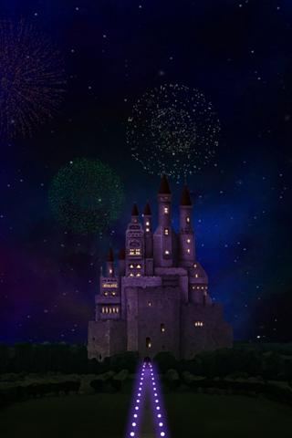 castle and sky LWallpaper- screenshot