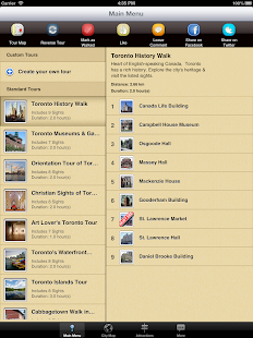Toronto Map and Walks - screenshot thumbnail