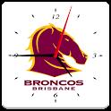 Brisbane Broncos Analog Clock icon