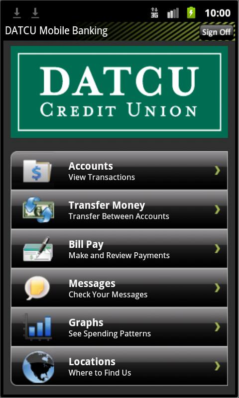 DATCU Mobile Banking - screenshot