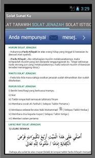 Solat Sunat Ku - screenshot thumbnail