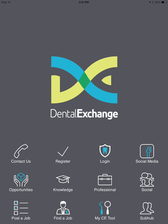 Dental Exchange- screenshot