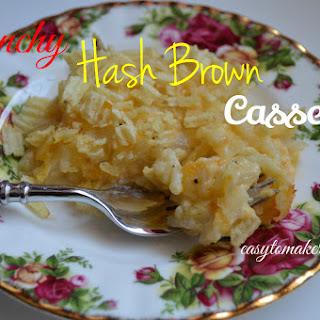 Crunchy Hash Brown Casserole
