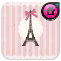 Eiffel(pink)Theme CocoLauncher icon