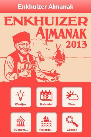 Enkhuizer Almanak 2012 - screenshot