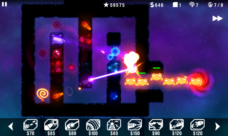 Radiant Defense screenshot #2