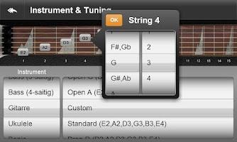 Screenshot of JamBox Pro Chords & Scales