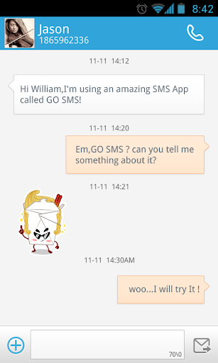 玩通訊App|GO短信加強版炒面表情貼圖免費|APP試玩