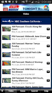 NBC LA Weather- screenshot thumbnail