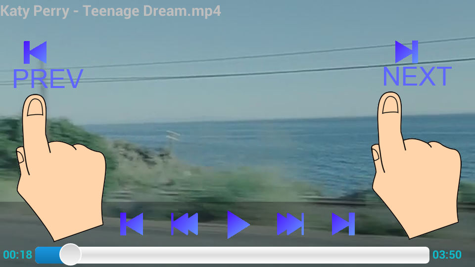 Background Video Player- screenshot