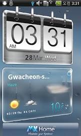 Sense HTC style MX Theme free Screenshot 4