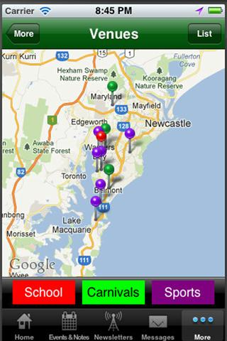 Warners Bay Public School- screenshot