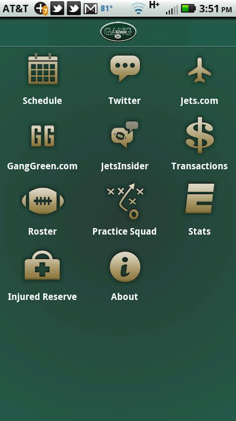 Gang Green - New York Jets- screenshot