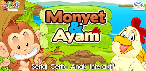 Cerita Anak Monyet Dan Ayam Aplikasi Di Google Play