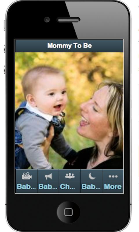 MOMMY TO BE APP - screenshot