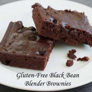 Black Bean Blender Brownie