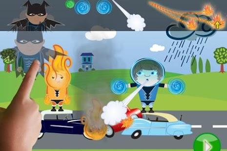 ClickySticky™ Superheroes - screenshot thumbnail