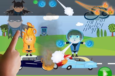 ClickySticky™ Superheroes - screenshot