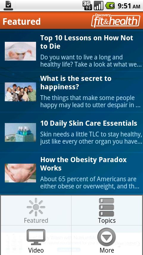Discovery Fit & Health- screenshot